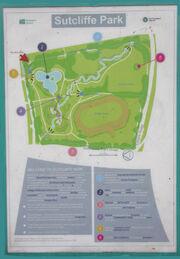 Sutcliffe Park Interpretation Board 1