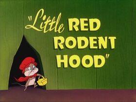 07-littleredrodenthood
