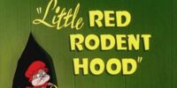 Little Red Rodent Hood