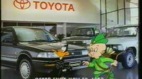 Toyota (Looney Tunes) 'Cwazy 1992 clearance' TV ad