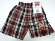 Set of 4 different Looney Tunes Boxer Shorts Underwear - Boys Embroidered Logo Taz B