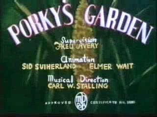 Porky's Garden (Redrawn Colorized)