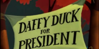 Daffy Duck for President (Cartoon)