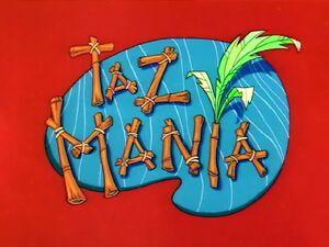 TazMania title card