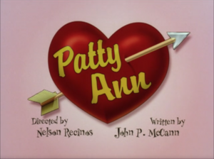 Patty Ann Title Card