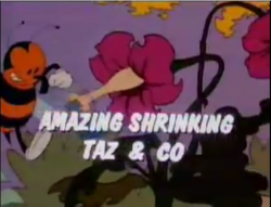 The Amazing Shrinking Taz and Co.