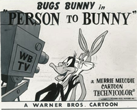 Person to Bunny Lobby Card