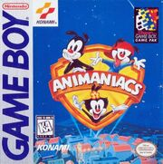 Animaniacs Game Boy Box Art