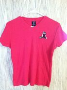 1998 Warner Bros PEPE Le PEW Ladies Hot Pink Knit Shirt - Size Med