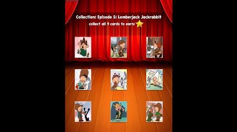 Looney Tunes Dash Card Collection Episode 5 Lumberjack Jackrabbit Complete