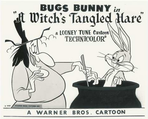 A Witch's Tangled Hare Lobby Card