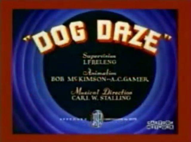 Dog Daze (1937)
