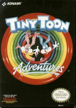 Tiny Toon Adventures NES cover