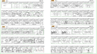 Here Comes The Pig Storyboard