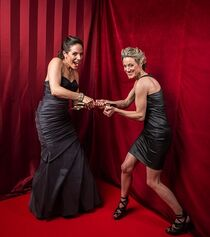 Silk and Palmer 2014 CSA (backstage)
