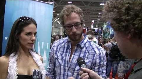 Anna Silk and Kris Holden-Ried Interview (Fan Expo 2010)