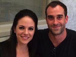 Anna Silk and Michael Grassi