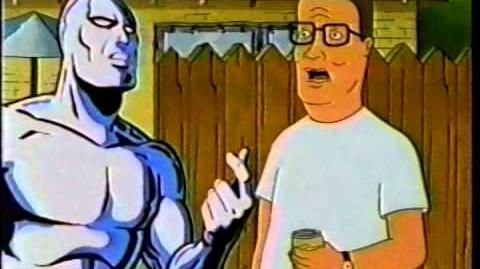 Fox Kids - King of the Hill meets Silver Surfer