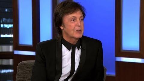 Paul McCartney on Jimmy Kimmel Live PART 3