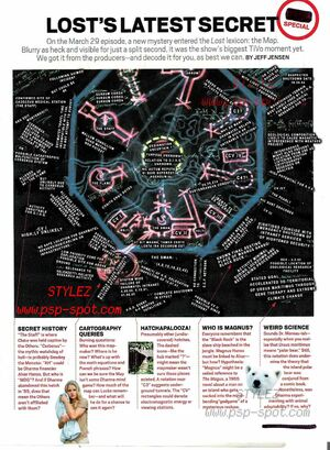 Magazine map
