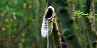 Zapatilla blanca de tenis