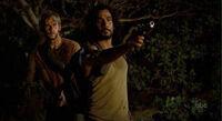 Sayid and Charlie 1x24