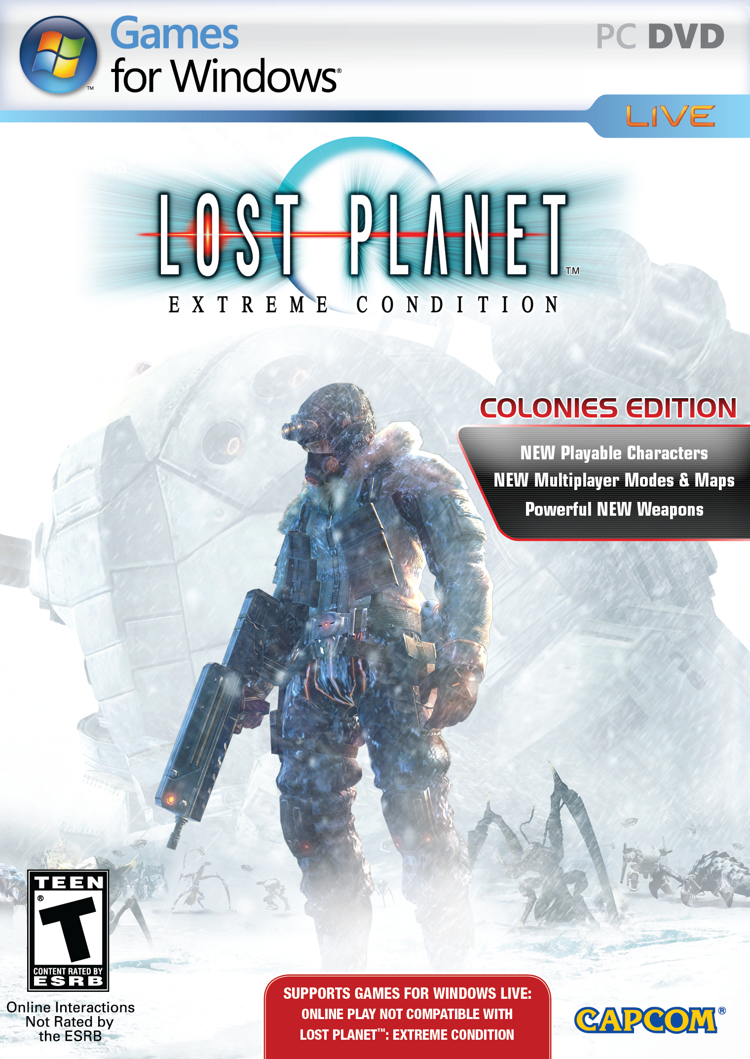Lost planet extreme condition colonies edition pc trainer