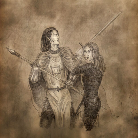 File:Haleth and caranthir by wollemisiss-d6omrty.jpg