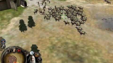 The Lord Of The Rings - The Battle For Middle Earth, 'Evil Campaign' Level 1 'Isengard' Part