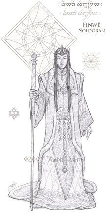 WIP Lords of Noldor Finwe by aautio