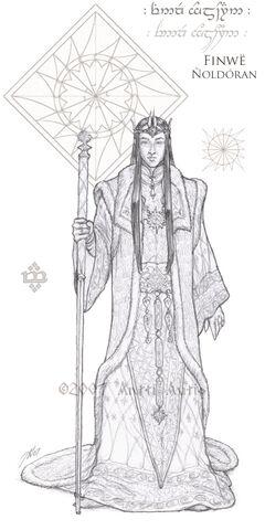 File:WIP Lords of Noldor Finwe by aautio.jpg