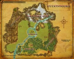 Map - Ettenmoors