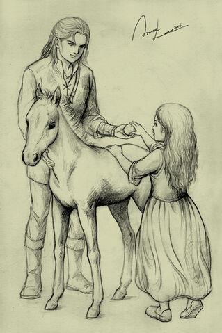 File:Anna Lee - Young Éomer and Éowyn.jpg