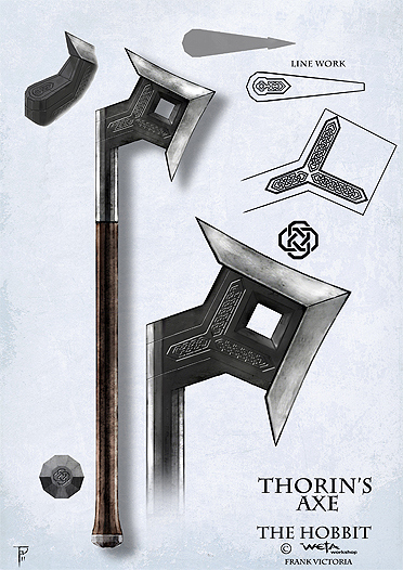 Thorin's axe   The One...