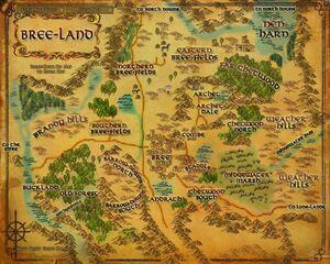 Map - Bree-Land