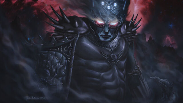 File:Morgoth the black foe by rinthcog-d3jl5m2.jpg