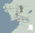 DOL AMROTH location map in middle earth.PNG