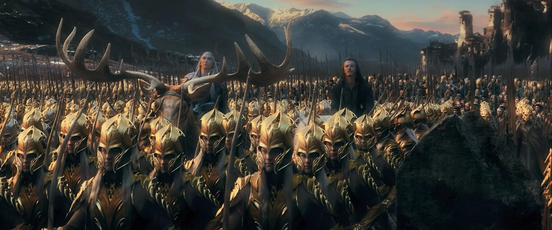 Bilderesultat for five army battle the hobbit