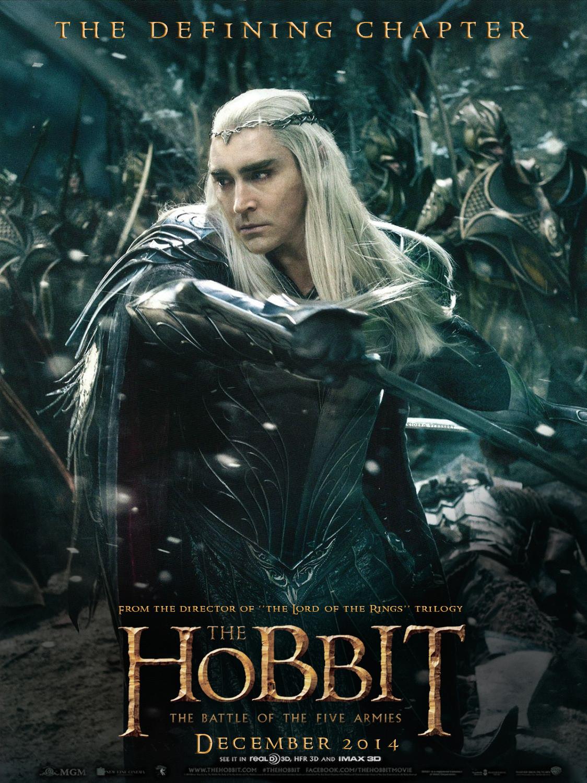 The hobbit tbotfa poster by sjord vlessert g