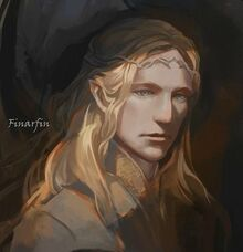 Finarfin Youngest Son of King Finwë
