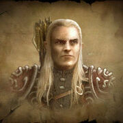Thranduil father of Legolas