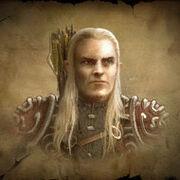 Thranduil father of Legolas