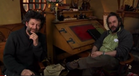 Jackson and Serkis