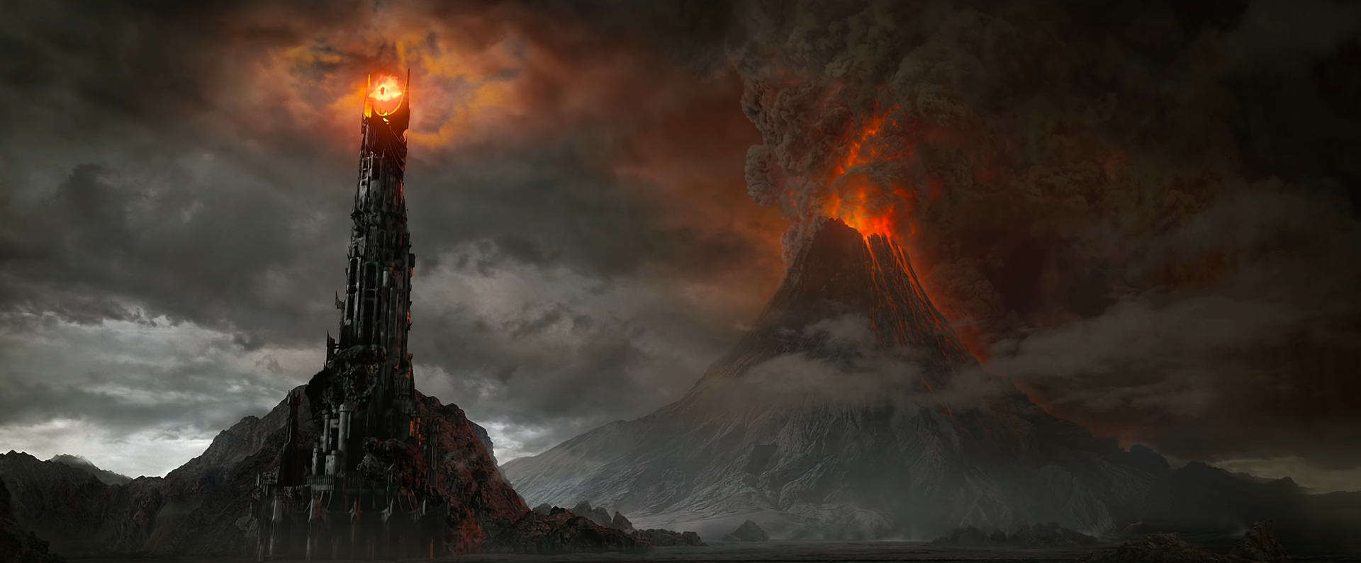 Image result for lord of the rings mordor