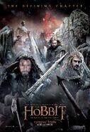 BOTFA poster - Dwarves & Azog