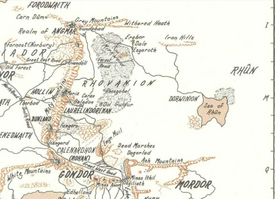 Map of Dorwinion