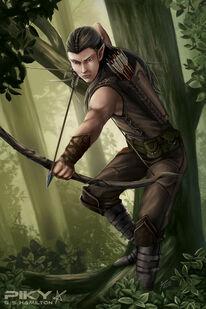 Arbor elf mithren by piky-d5d3acn