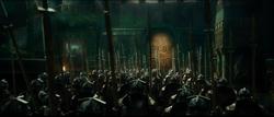Dwarves defending Erebor