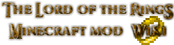 Wiki Lotrminecraftmod