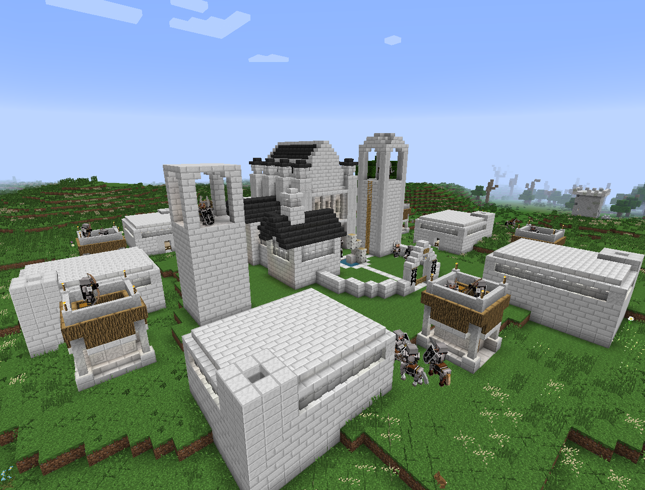 """FOR GONDOR!"""" - Minecraft Lord of the Rings S1E1 - YouTube"""